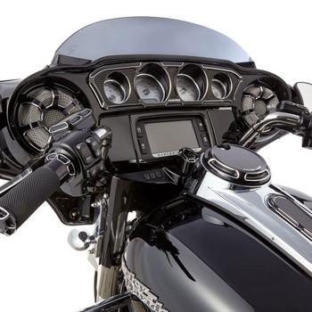 Arlen Ness Beveled Front Speaker Grilles for 2014-2017 Harley Touring