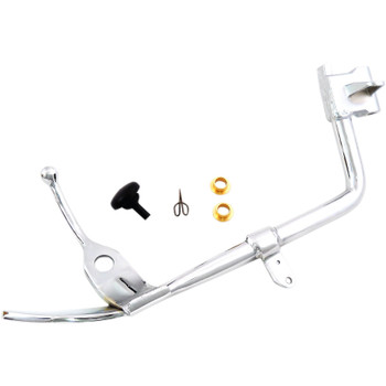 Drag Specialties Chrome Kickstand Kit for 2007-2017 Harley Softail