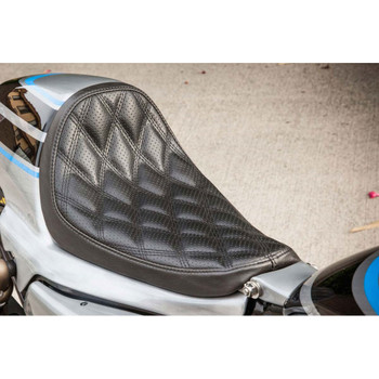 Roland Sands Boss Solo Seat for RSD Sportster Cafe Tail Section