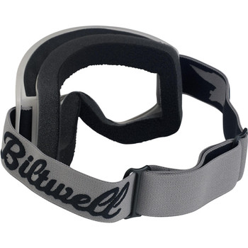Biltwell Goggles Bolts Black With Clear Lens