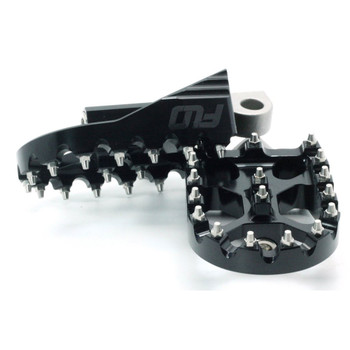 Flo Motorsports Moto Style Foot Pegs for Harley - Black