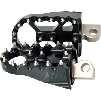Flo Motorsports Moto Style Foot Pegs for Harley - Flat Black