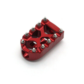 Flo Motorsports Moto Style Shifter Peg for Harley - Red