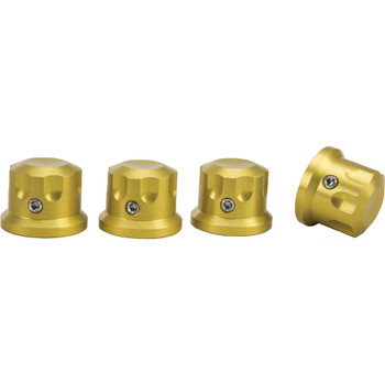 Rooke Customs Headbolt Covers for Harley - Gold