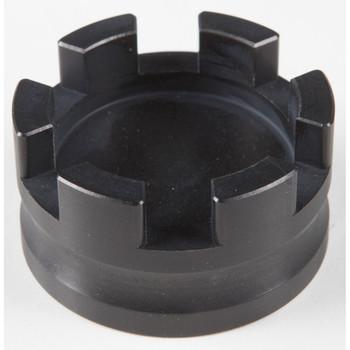 Rooke Customs Oil Dipstick Cap for Harley - Black