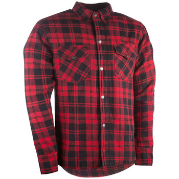 Highway 21 Armored Flannel Shirt - Red
