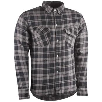 Highway 21 Marksman Flannel Shirt - Black/Gray