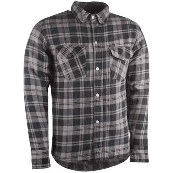 Highway 21 Marksman Flannel Shirt - Black/Gray