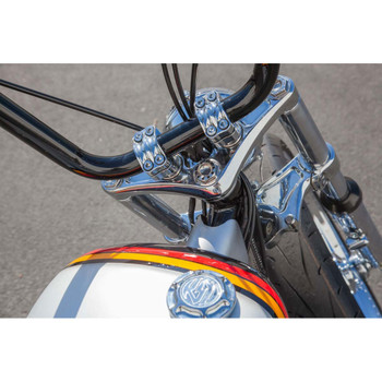 Roland Sands 4-Bolt Nostalgia Risers - Chrome