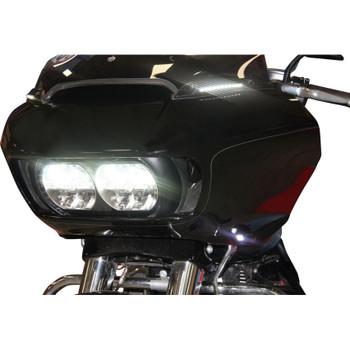 Custom Dynamics Windshield Trim with Turn Signals for 2015-2020 Harley Road Glide