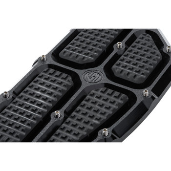 Roland Sands Traction Driver Floorboards for 1980-2019 Harley - Black Ops