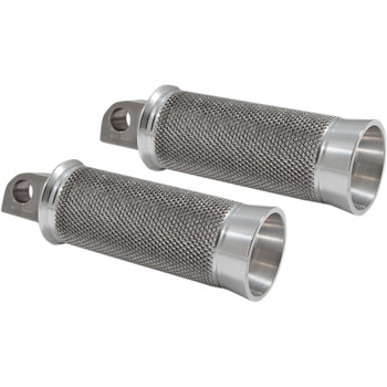 Speed Merchant Cruiser Foot Pegs for Harley - Raw
