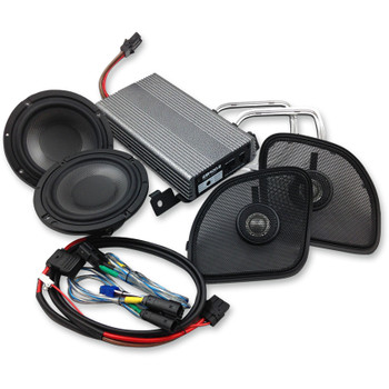 Wild Boar 400 Watt Amp/Speaker Kit for 2015-2017 Harley Road Glide