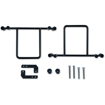 Burly Saddlebag Bracket Mount Kit for 2006-2017 Harley Dyna