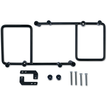 Burly Saddlebag Bracket Mount Kit for 1996-2017 Harley Sportster
