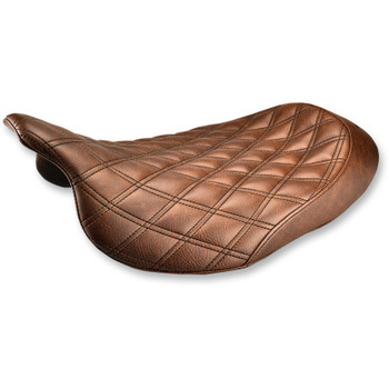 Saddlemen Renegade LS Solo Seat for 2008-2020 Harley Touring - Brown