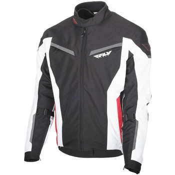 FLY Street Strata Jacket - Black/White/Red