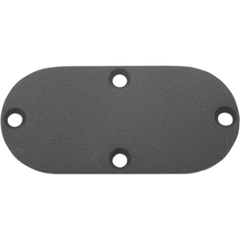 Drag Specialties Black Primary Chain Inspection Covers