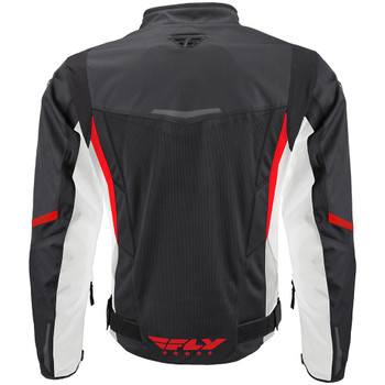 FLY Street Airraid Jacket - Black/Red/White