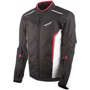 FLY Street Baseline Jacket - Black/White/Red