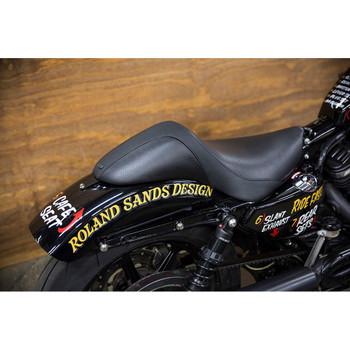 Roland Sands Avenger Mini Cafe Racer Seat for 2004-2018 Harley Sportster