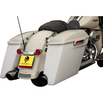 """Cycle Visions 4"""" Extended Saddlebags for 2014 Harley Touring"""