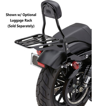 Cobra Detachable Backrest Kit for 2004-2017 Harley Sportster - Black