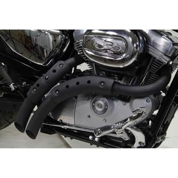 V-Twin Magnum Exhaust for 2004-2013 Harley Sportster - Black