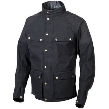 Scorpion Birmingham Wax Jacket - Black