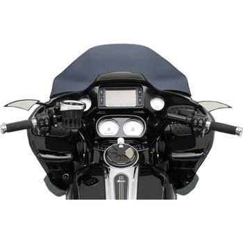"""Trask 1-1/4"""" V-Line Handlebars for 2015-2017 Harley Road Glide - Black"""