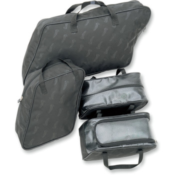 Saddlemen Saddlebag Packing Cube Liner Set for 1993-2013 Harley FLHT Hard Saddlebags