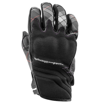 Speed and Strength Cross My Heart Gloves - Black