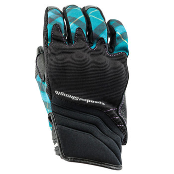 Speed and Strength Cross My Heart Gloves - Teal
