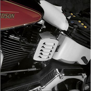 Drag Specialties Louvered Coil Cover for 1965-1999 Harley