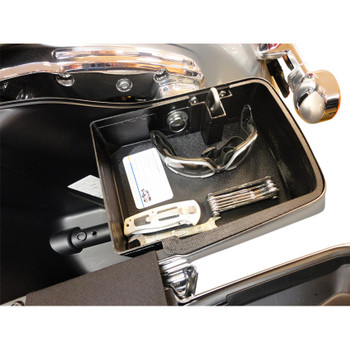 Hardbagger Top Shelf Saddlebag Organizer for 2014-2019 Harley Touring