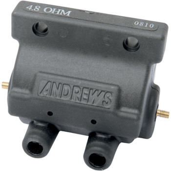 Andrews Supervolt 12V Ignition Coil - 4.8 ohm Black