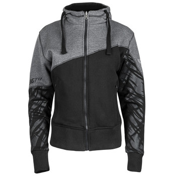 Speed and Strength Cat Out'a Hell Armored Hoody - Black/Grey