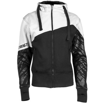 Speed and Strength Cat Out'a Hell Armored Hoody - White/Black