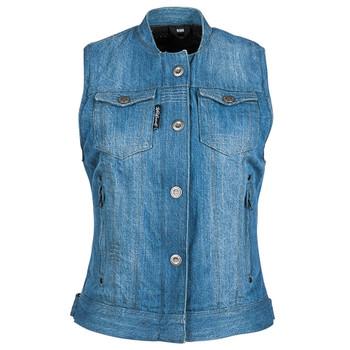 Speed and Strength Glory Daze Women's Denim Vest - Blue