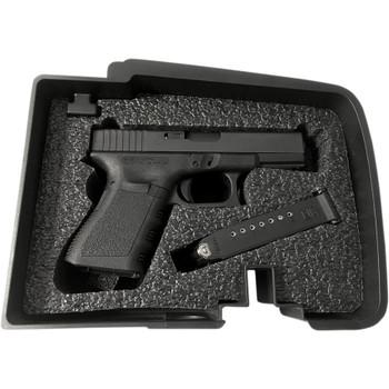 Hardbagger Glock Multi-Fit Foam Insert Kit for Top Shelf Saddlebag Organizer Tray