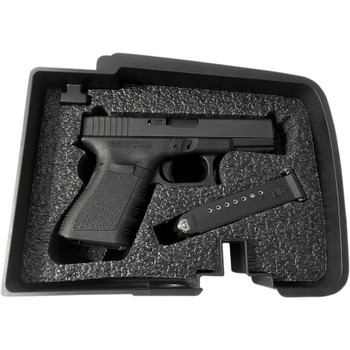 Hardbagger Glock Multi-Fit Foam Insert Kit for Top Shelf Saddlebag Organizer Tray