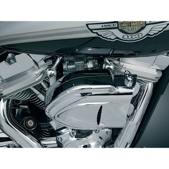 Kuryakyn Bluegrass Breather Kit for Harley