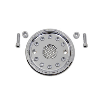 V-Twin Pulley Cover for 2004-2017 Harley Sportster - Chrome