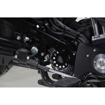 V-Twin Pulley Cover for 2004-2017 Harley Sportster - Black
