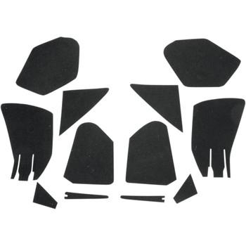 Hotop Designs Fairing Pocket Lining Kit for 1998-2013 Harley Road Glide