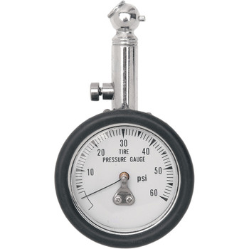 Drag Specialties Tire Pressure Gauge