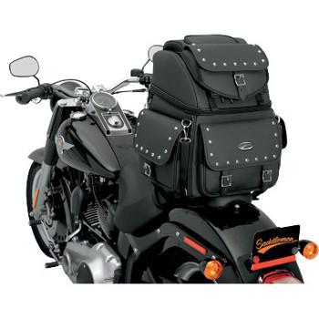 Saddlemen BR1800EX/S and BR3400EX/S Combination Backrest, Seat and Sissy Bar Bag