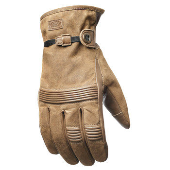 Roland Sands Truman Waxed Gloves - Ranger Brown
