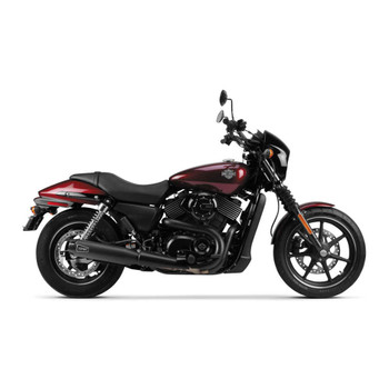 Two Brothers Racing Comp-S Slip-Ons Exhaust Mufflers for 2015-2017 Harley Street