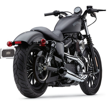Cobra El Diablo 2-Into-1 Exhaust for 2014-2017 Harley Sportster - Chrome